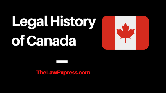 Legal History of Canada